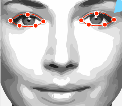 Virtual makeover step 23 please adjust the outline of your eyes solutioingenieria Images